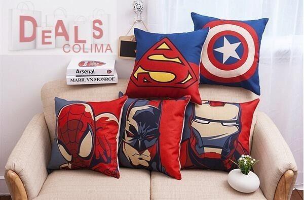 Cojines dise os de superheroes en mercado libre - Cojines de diseno ...