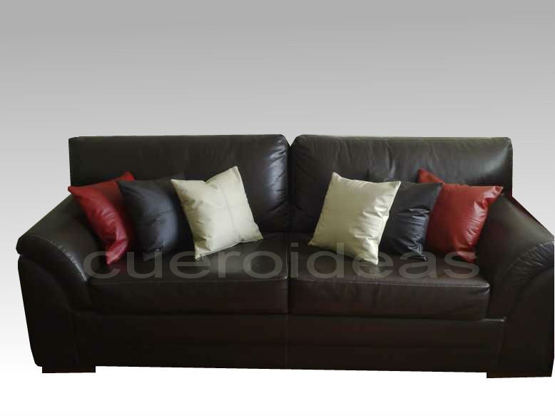 Cojines ecocuero decorativos sofa no lactancia embarazo en mercado libre - Sofa lactancia ...