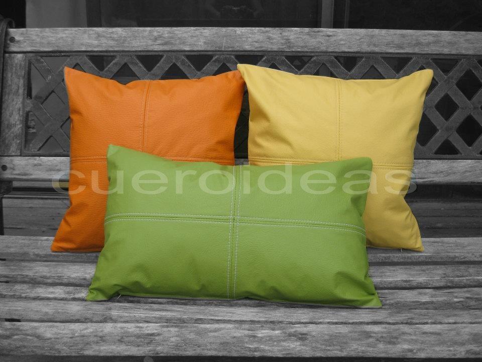 Cojines Ecocuero Decorativos (sofa, No Lactancia, Embarazo ...