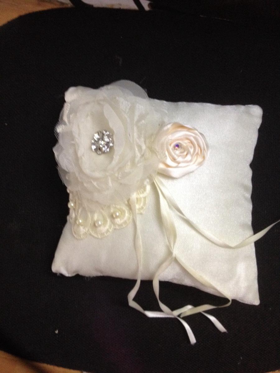 Cojines para anillos para boda novias en - Cojines para cama matrimonio ...