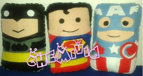 cojines para niños de tu super heroe favorito!!! bellos