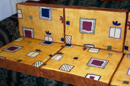 Cojines para sala colonial varios colores 3 en mercado libre - Donde comprar fundas de sofa ...