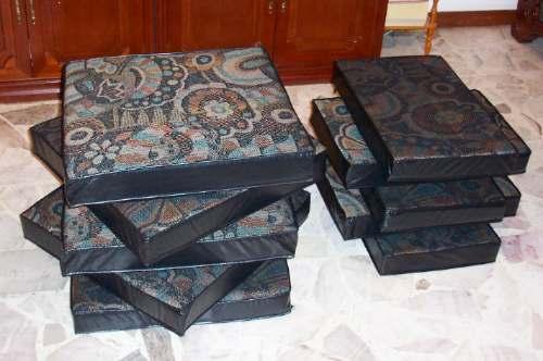 Cojines para sala colonial varios colores 3 en for Salas coloniales