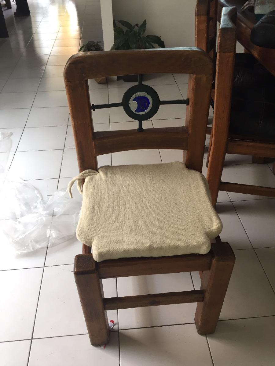 Cojines para sillas de comedor en mercado libre - Tapices para sillas de comedor ...