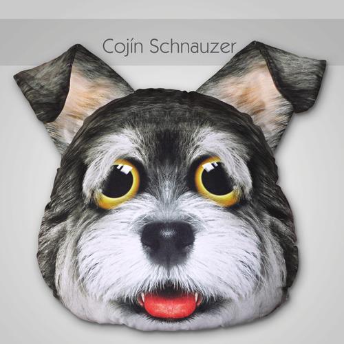 cojines personalizados con formas de perros, gatos, osos