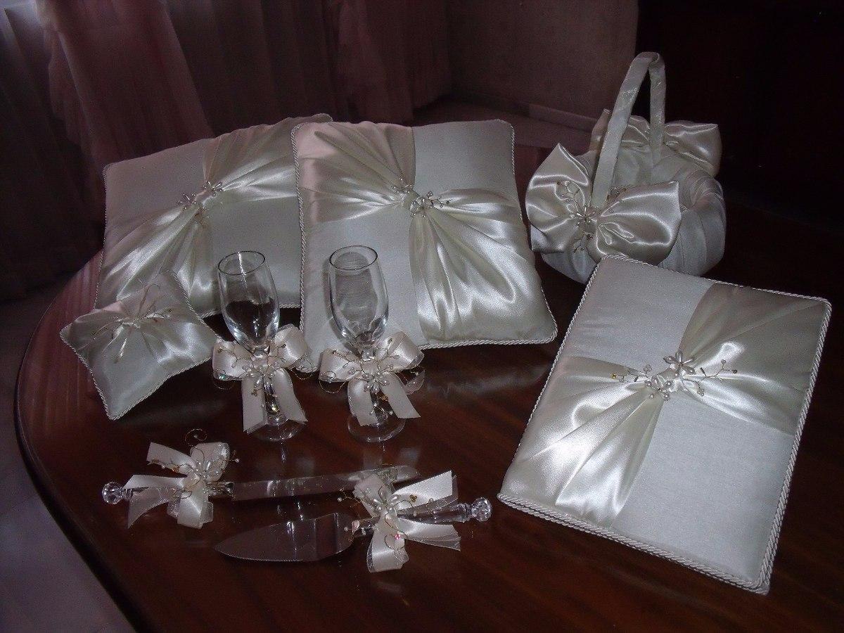 Cojines y accesorios para boda 1 en mercado libre for Decoracion de accesorios