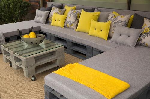 cojines y colchonetas de terraza