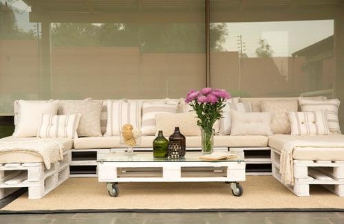 cojines y colchonetas para terraza
