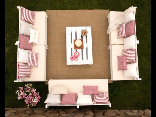 cojines y colchonetas para terrazas