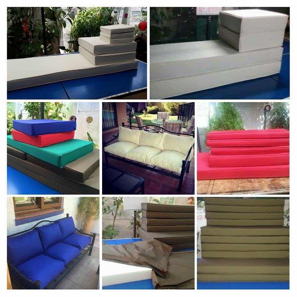 Cojines y o fundas para muebles de terraza topcover en for Fundas muebles terraza