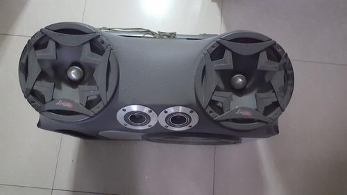 cojon de cornetas para carro bajo+planta+medio+tweeter