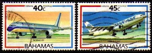 col 01236 bahamas aéreos 12/13 aviões u
