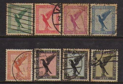 col 06458 alemanha reich aéreos 27/34 pássaro u