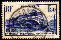 col 07332 frança 340 locomotiva trem u
