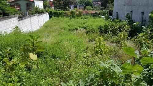 col. amatitlan terreno con uso de suelo comercial