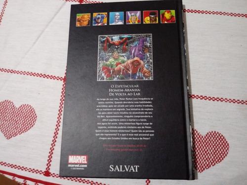 col. de graphic novels marvel homem-aranha de volta ao lar