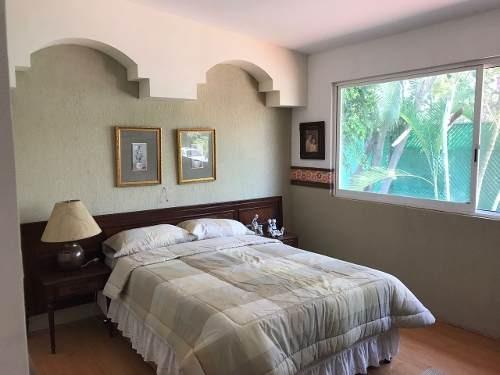 col. josé g. parres, magnifica casa en 3 niveles con jardin y jacuzzi