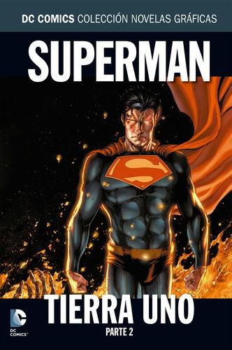 col. novelas gráficas salvat : superman: tierra uno, parte 2