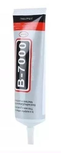 cola b7000 + 4 grampo fixa tela touch + ventosa profissional