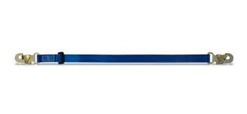 cola de amarre regulable con mosqueton 55 mm x 2 mts 100 kg