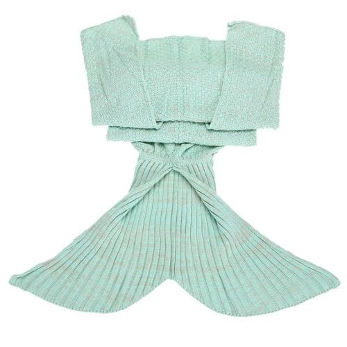 cola de la sirena diamondo manta de ganchillo y blanket