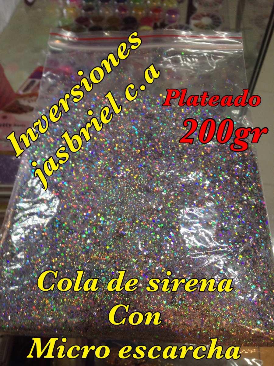 Cola De Sirena 200 Gramos Para Uñas Colores Variados - Bs. 35.000,00 ...