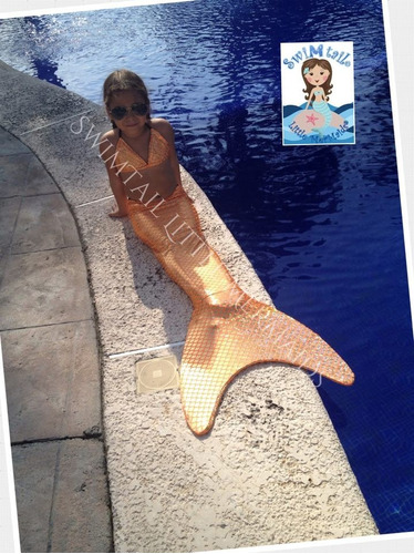 cola de sirena y monoaleta bikini swimtail little mermaids