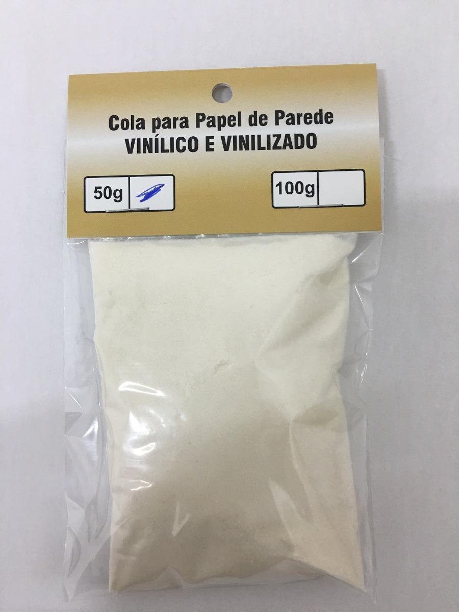 Cola em p 50g para papel de parede r 21 99 em mercado - Cola para papel ...