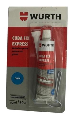 cola fix express cuba, granito, pia, mármore wurth 50ml