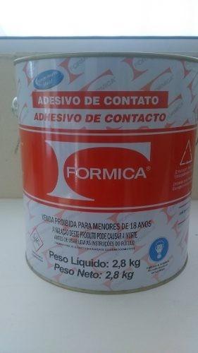Adesivo De Contato Formica ~ Cola Formica 2,8kg Adesivo De Contato Ideal Para Marceneiros R$ 78,60 em Mercado Livre