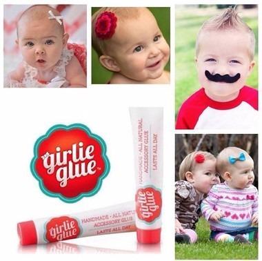 cola girlie glue para acessórios infantis girlie glue