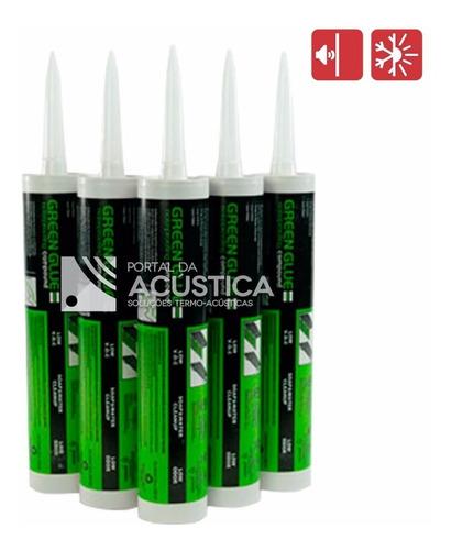 cola green glue - utilização isolamento acústico / importado