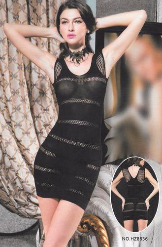 cola less hilo dental + body vestido lencería sexy hot!!!