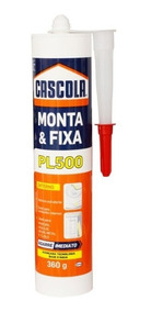 Cola Monta Fixa Cascola Pl500 360gr