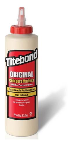 cola original p/ madeira wood glue 510g 6004530 titebond