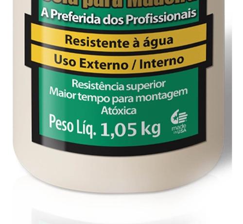 cola p/ madeira ultimate 1,05kg 6004529 titebond + pincel