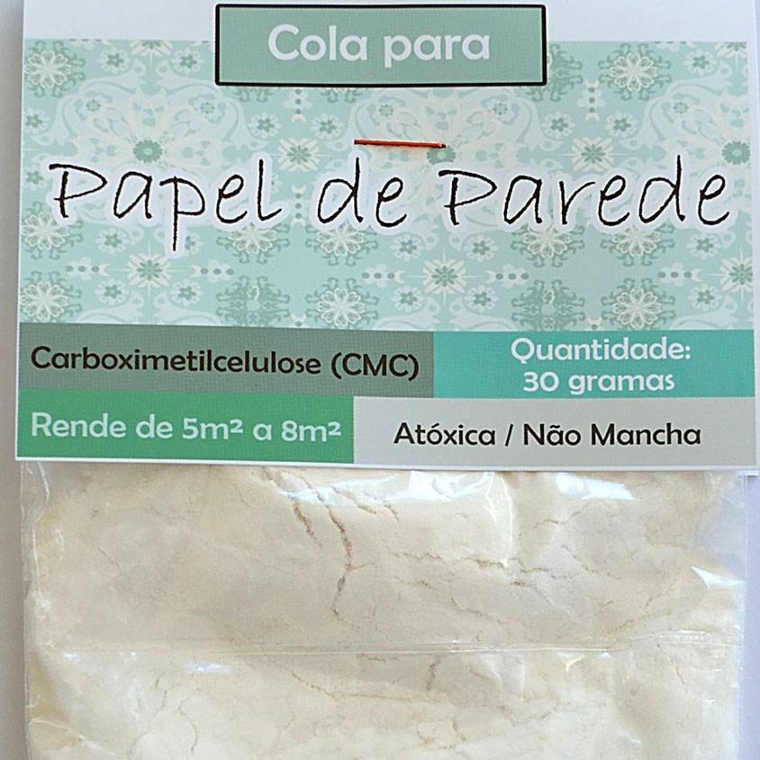 Cola para papel de parede 30 gramas rendimento 5m a - Cola para papel ...