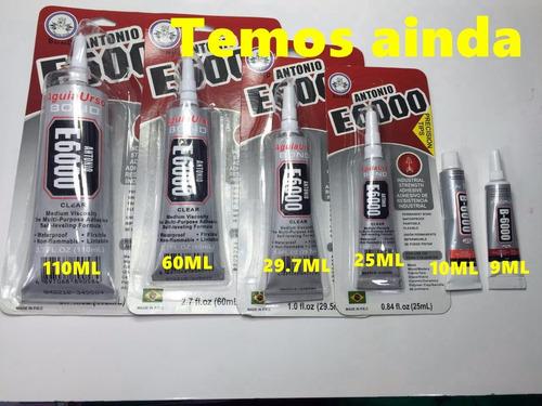cola plastico / vidro / acrilico / borracha e6000 25 ml