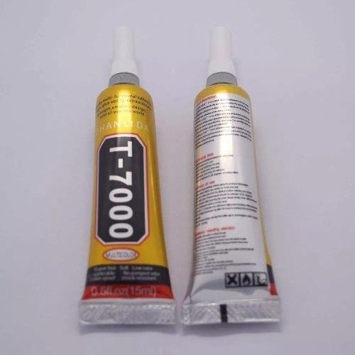 cola preta t7000 15ml para celular reparo touch + ferramenta
