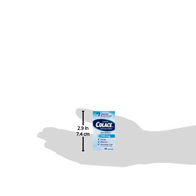 colace ablandador de heces de 100 mg - 30 ct