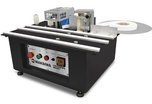 coladeira de borda manual portátil 220v cbc-s maksiwa c/cola