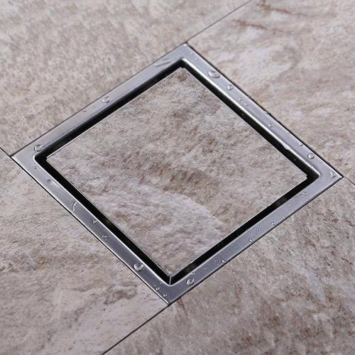 coladera helvex 24-chli para piso una boca tapa cuadrada