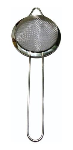 colador cónico mallado para coctelería - 9cm diametro