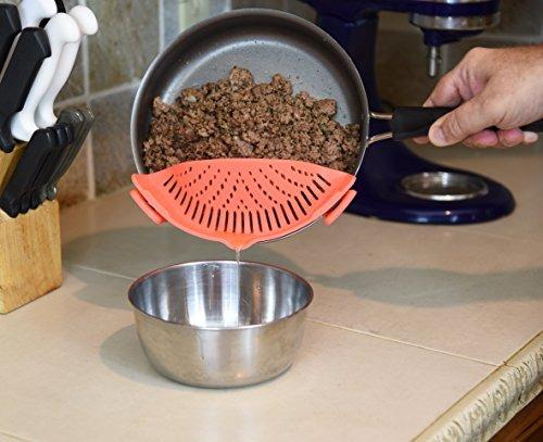 Colador De Cocina Con Clip Para Espaguetis b4756caa1682
