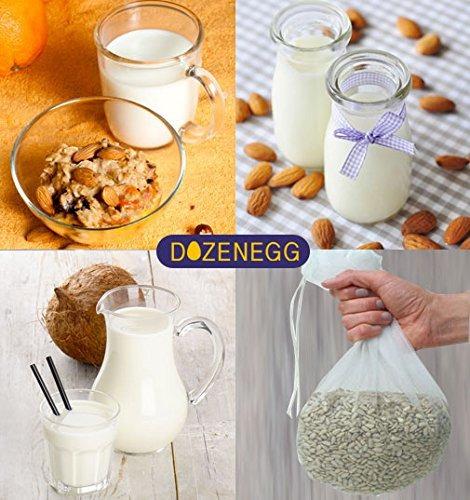 coladores de alimentos,tuerca bolsa de leche - reutiliza..