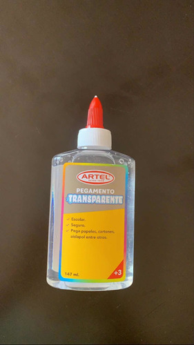 colafrias transparentes artel