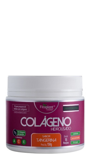 colágeno c/ vitaminas 150 gramas 6 potes