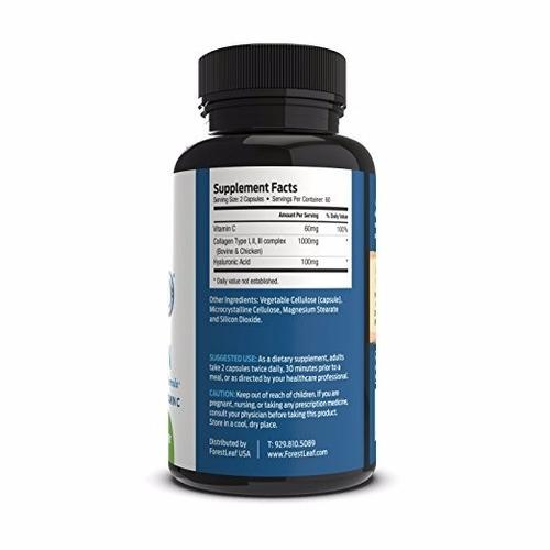 colageno complex con hyaluronico y vitamina c de eeuu