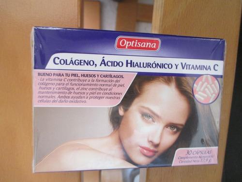 colágeno con ácido hialurónico y vitamina c importado españa