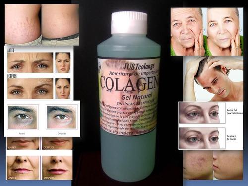 colágeno con vitamina e anti-oxidante en litro original